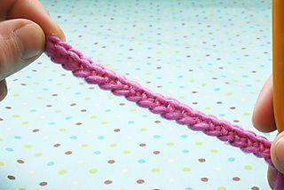 Single crochet 9