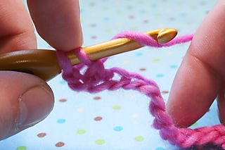 Double crochet 7