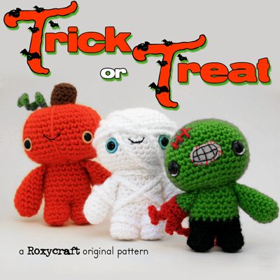 Crochet Halloween Amigurumi Free Patterns Instructions | Halloween ... | 400x400