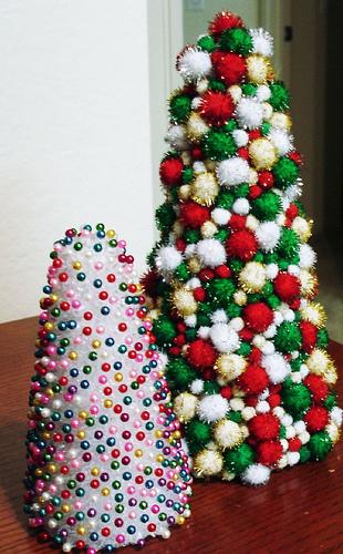The Pom Pom tree and the Bead Tree