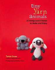 tiny yarn animals cover!